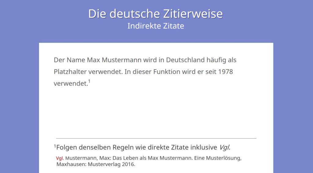 Deutsche Zitierweise,