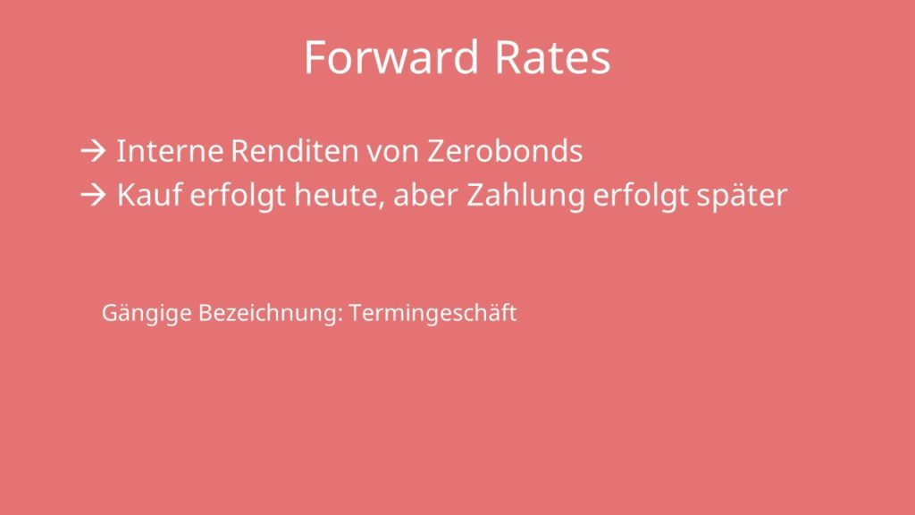 Forward Rate Definition