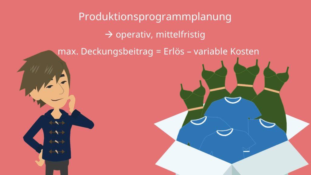 Produktionsprogrammplanung