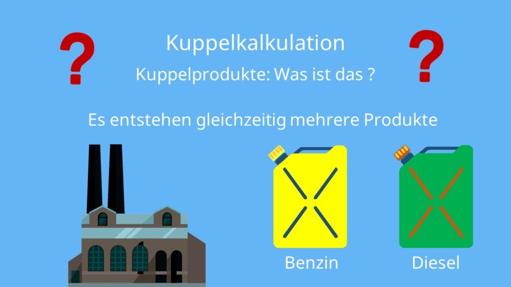 Kuppelkalkulation: Kuppelprodukte Definition