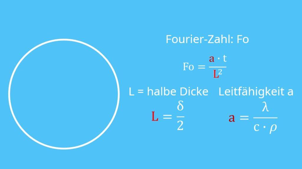 Instationäre Wärmeleitung, Biot-Zahl, Fourier-Zahl
