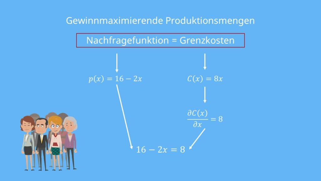 Preisdiskriminierung 1. Grades, Beispiel, Preisdiskriminierung