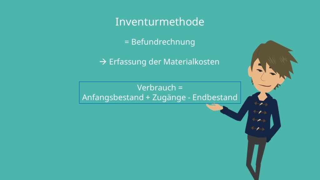 Inventurmethode Formel