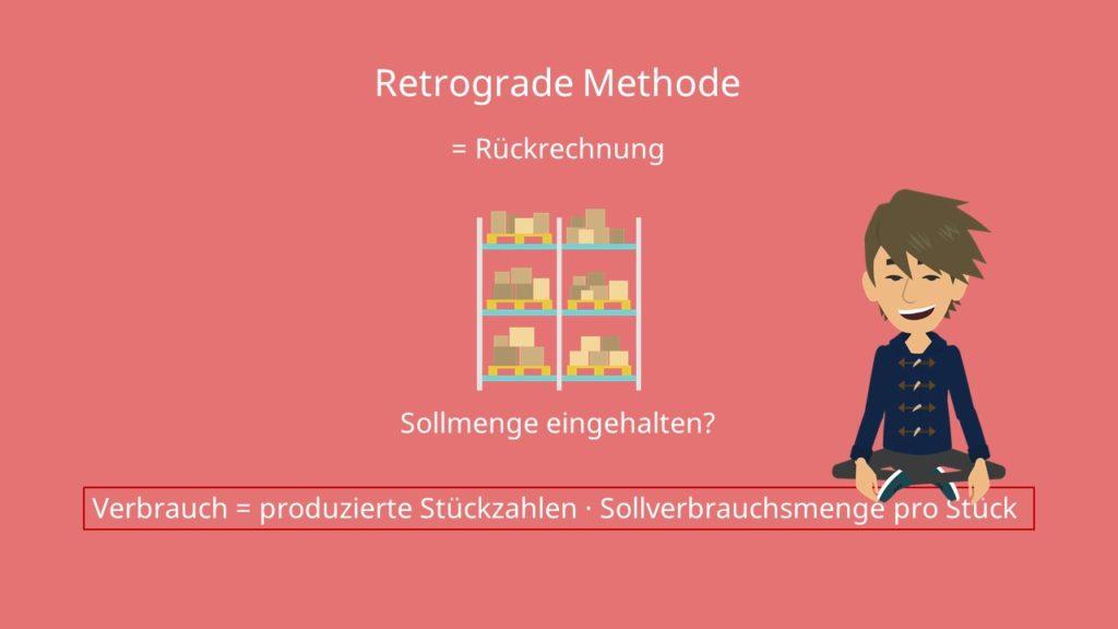 Formel retrograde Methode