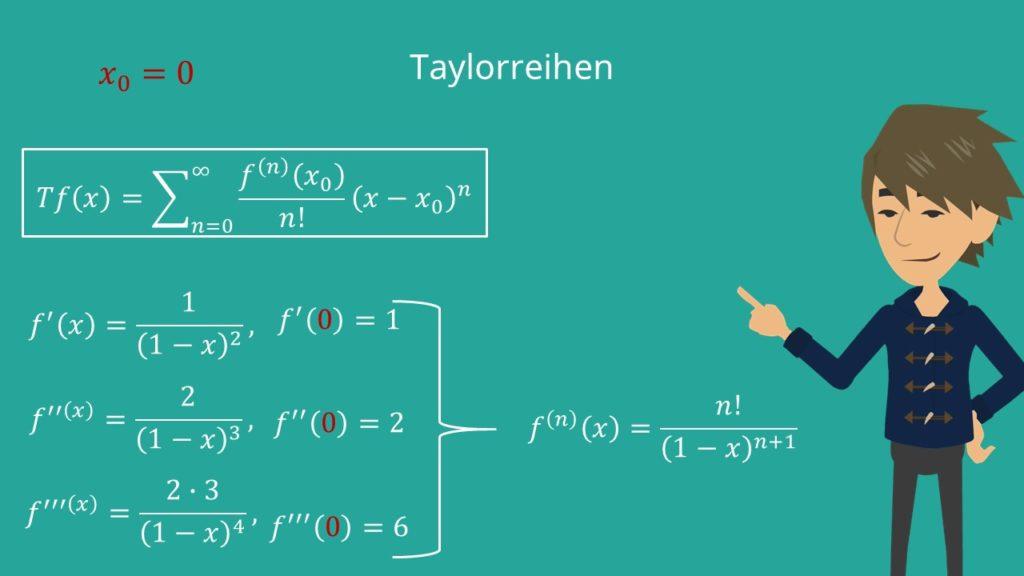 Taylorreihen Beispiele