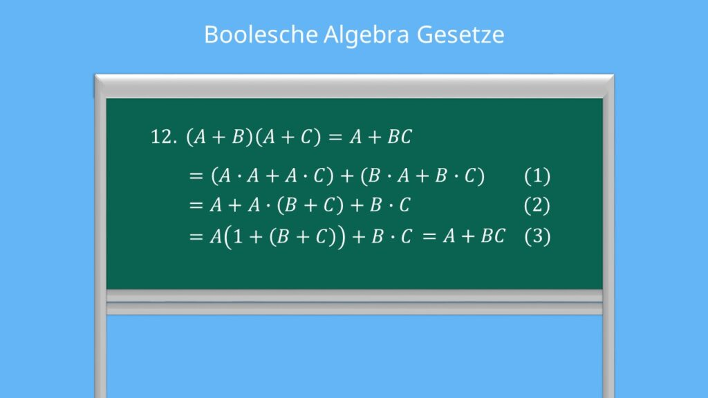 Boolesche Algebra Gesetze
