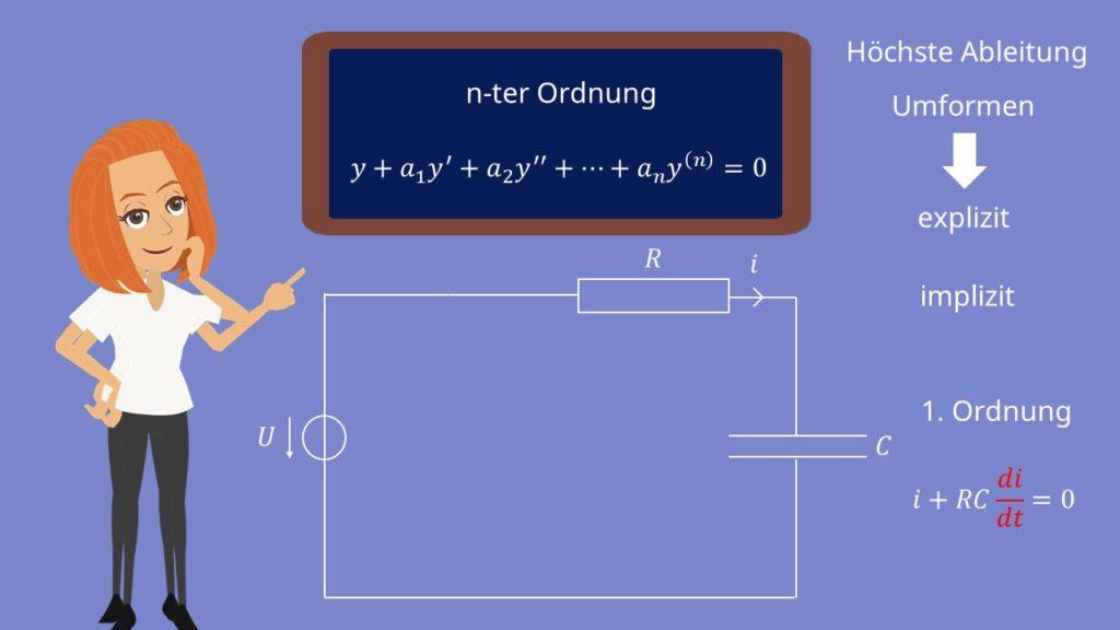 Differentialgleichung, DGL