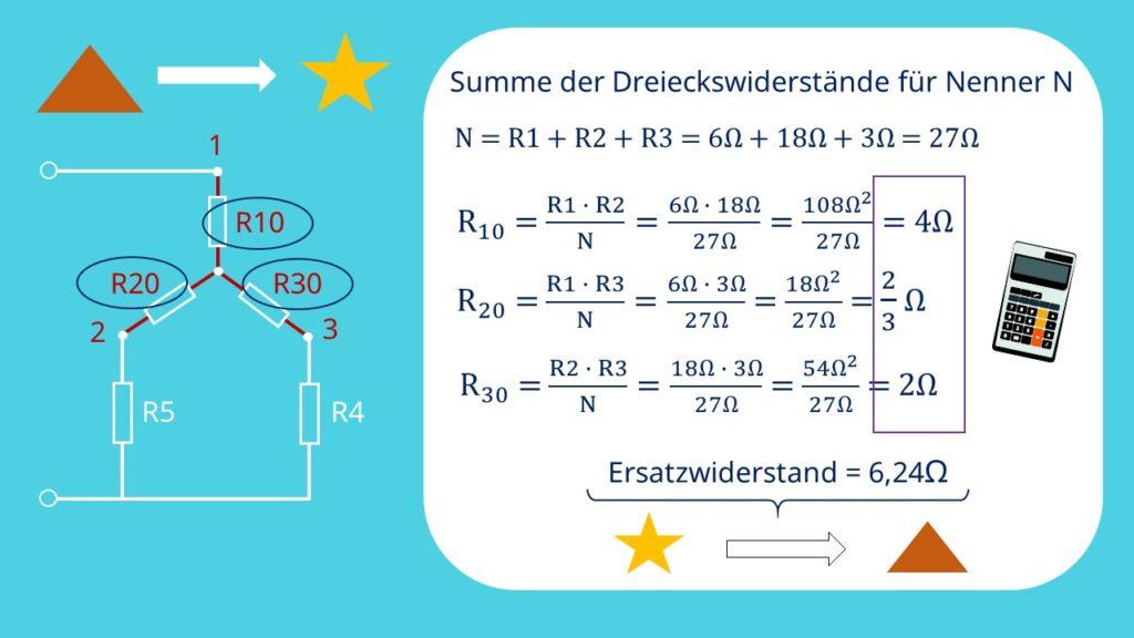 Dreieck-Stern-Umwandlung