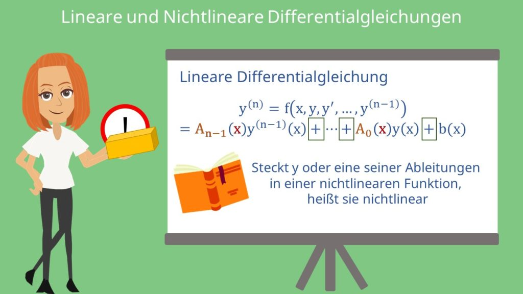 Lineare Differentialgleichung, Differentialgleichung, Lineare dgl, dgl