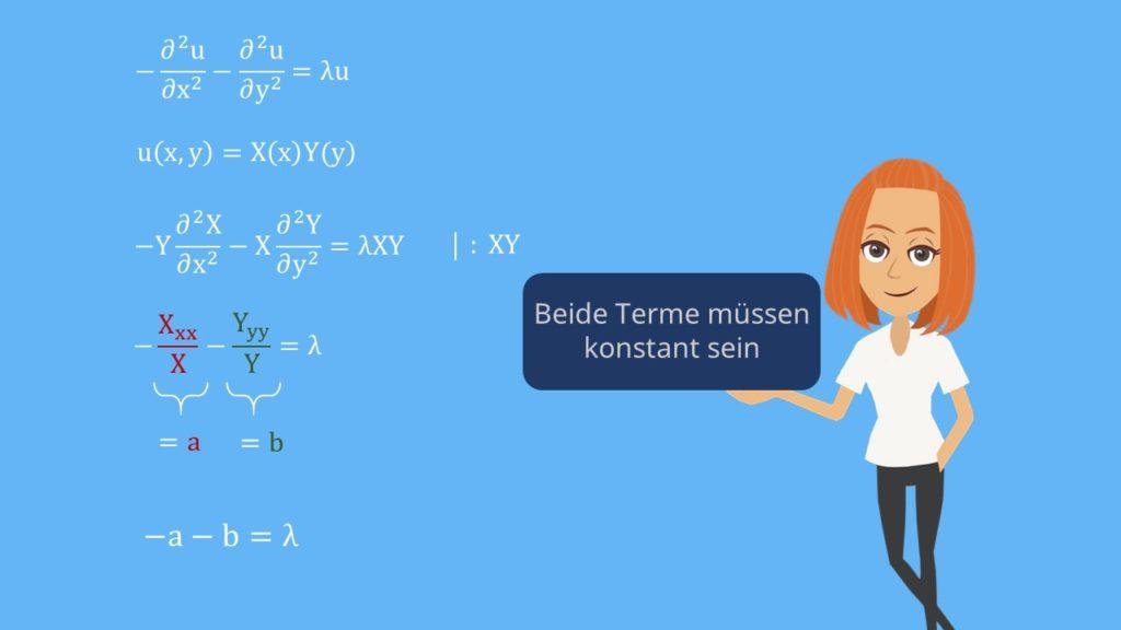 Poisson Gleichung aufteilen