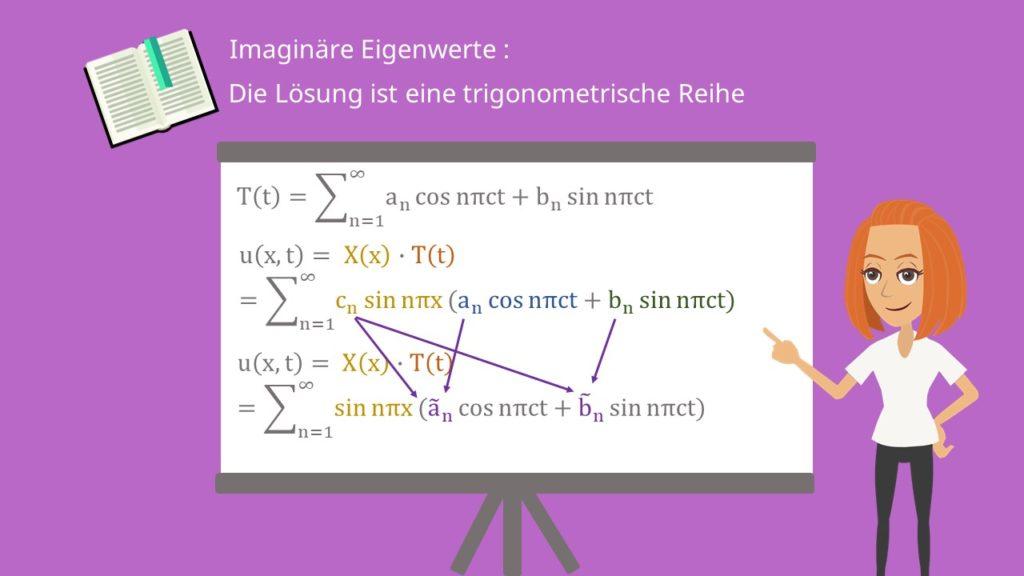 Wellengleichung - Trigonometrische Reihe