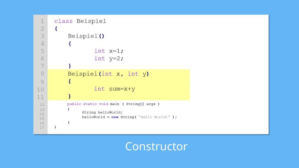 Java Objekte