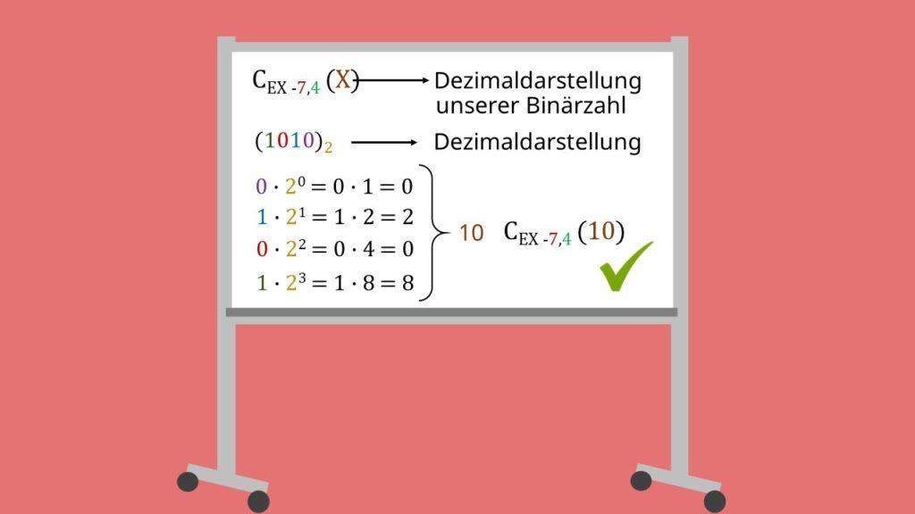 Exzess-q Beispiel