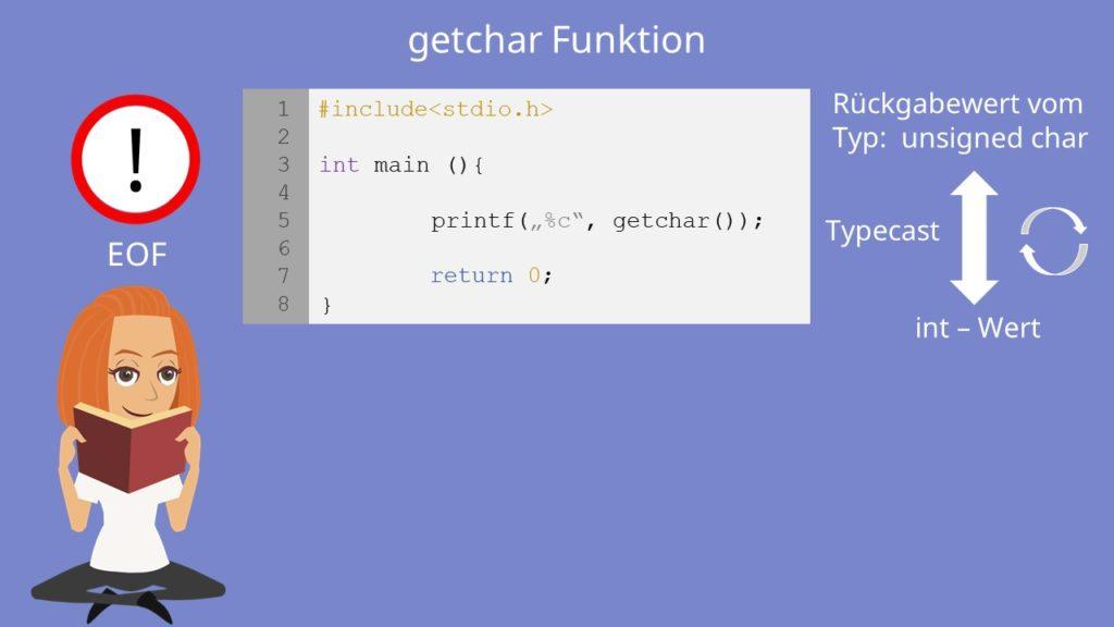 getchar C