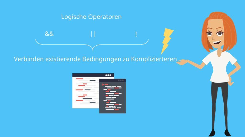 logische Operatoren C