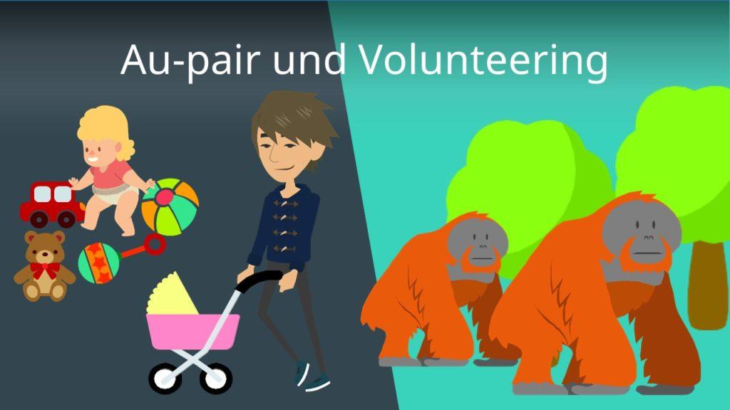 Au-pair und Volunteering