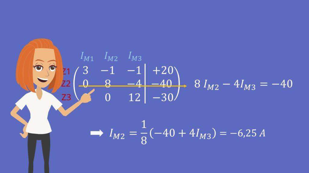 Gaußsches Eliminationsverfahren, Matrix, Zeilenumformung, lineares Gleichungssystem, Stufenform