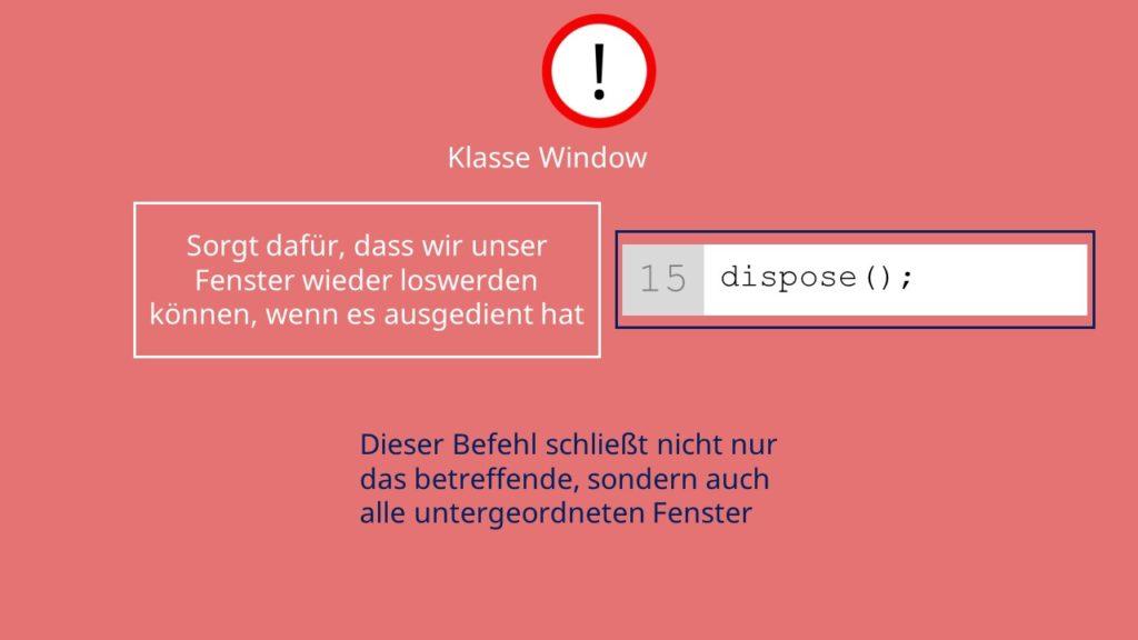 Fenster, Frames