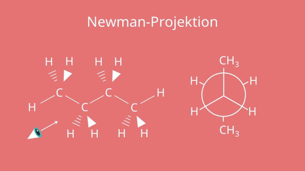 Newman-Projektion