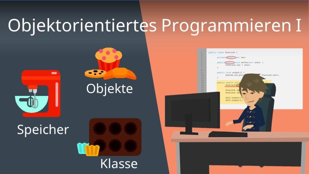 Objektorientiertes Programmieren I