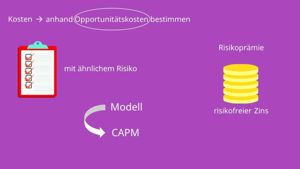 Opportunitätskosten  Kapitalkosten