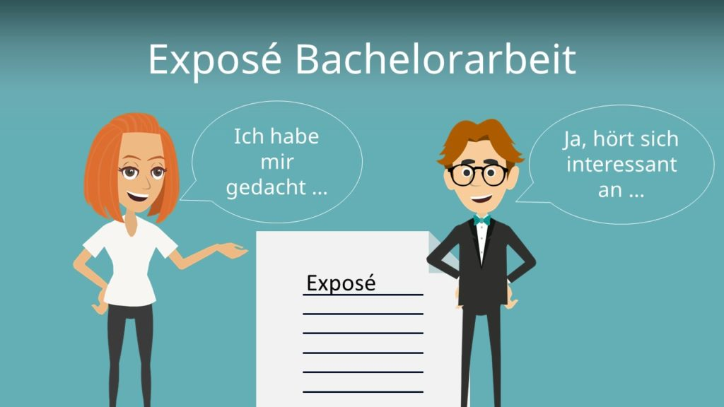 Exposé Bachelorarbeit