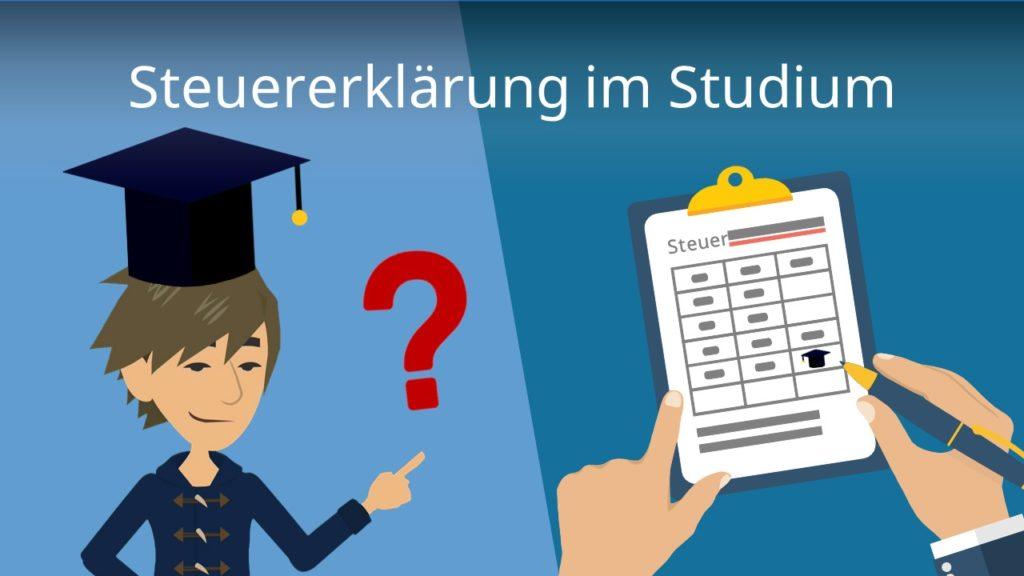 Steuererklärung im Studium