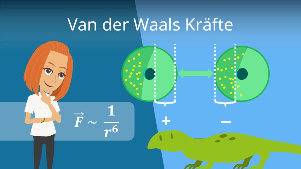 Zum Video: Van der Waals Kräfte