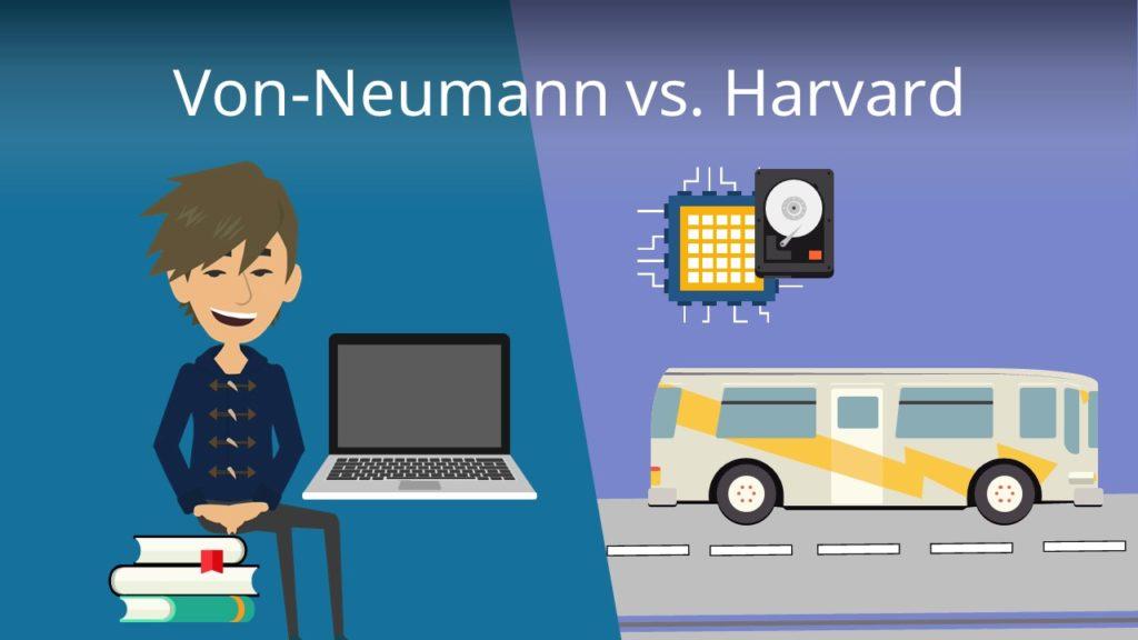 Von-Neumann vs. Harvard