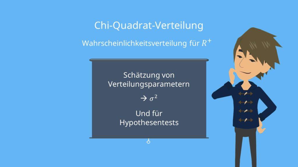 Chi-Quadrat-Verteilung, Chi Quadrat Verteilung Beispiel, Definition Chi Quadrat Verteilung, Chi Quadrat Verteilung einfach erklärt