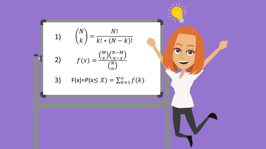 Kombinatorik, Variation, Kombination, Ziehen ohne Zurücklegen
