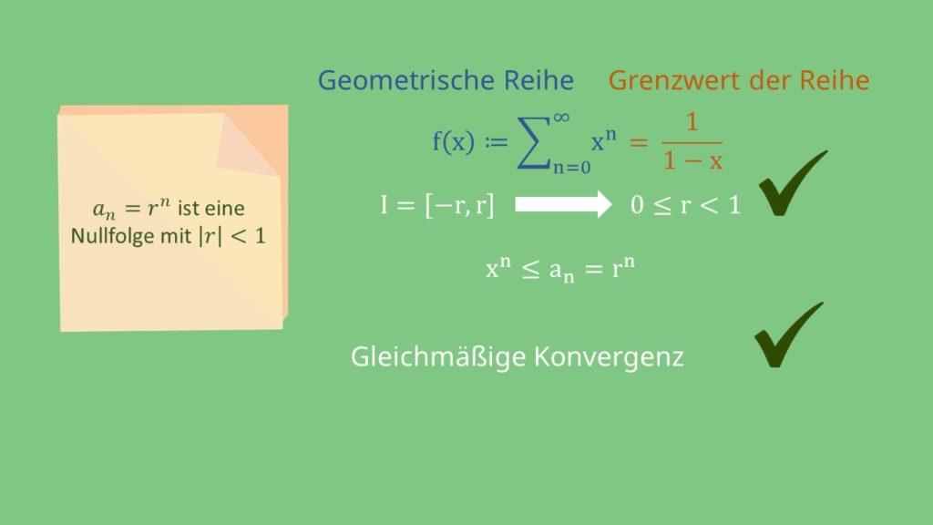 Funktionenreihen, Funktionenfolgen