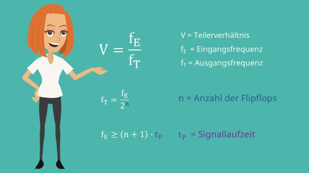 Frequenzteiler Formeln