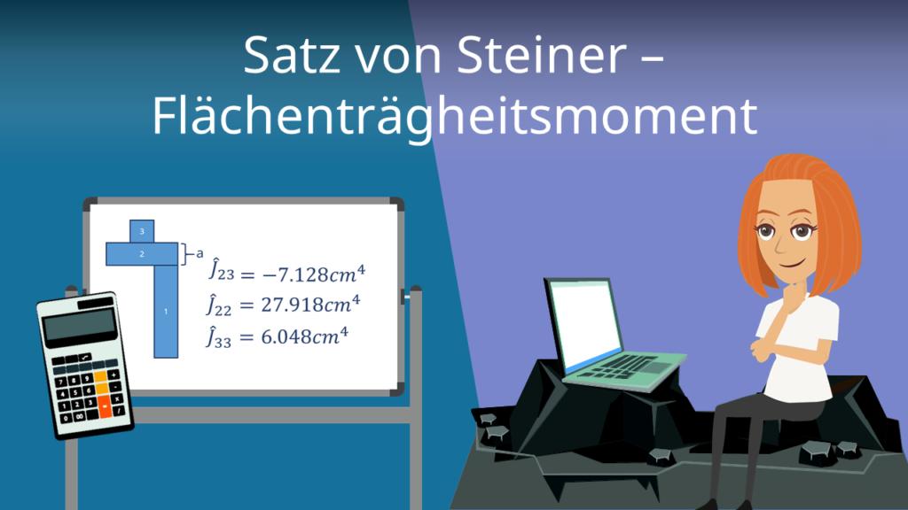 Satz von Steiner - Flächenträgheitsmoment