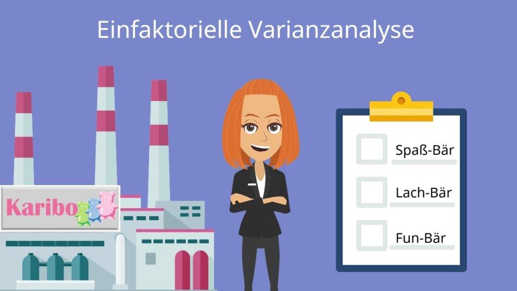 Varianzanalyse, Faktor, Statistik, allgemeines lineares Modell, einfaktoriell, Gruppen, Varianz