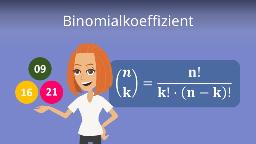Zum Video: Binomialkoeffizient
