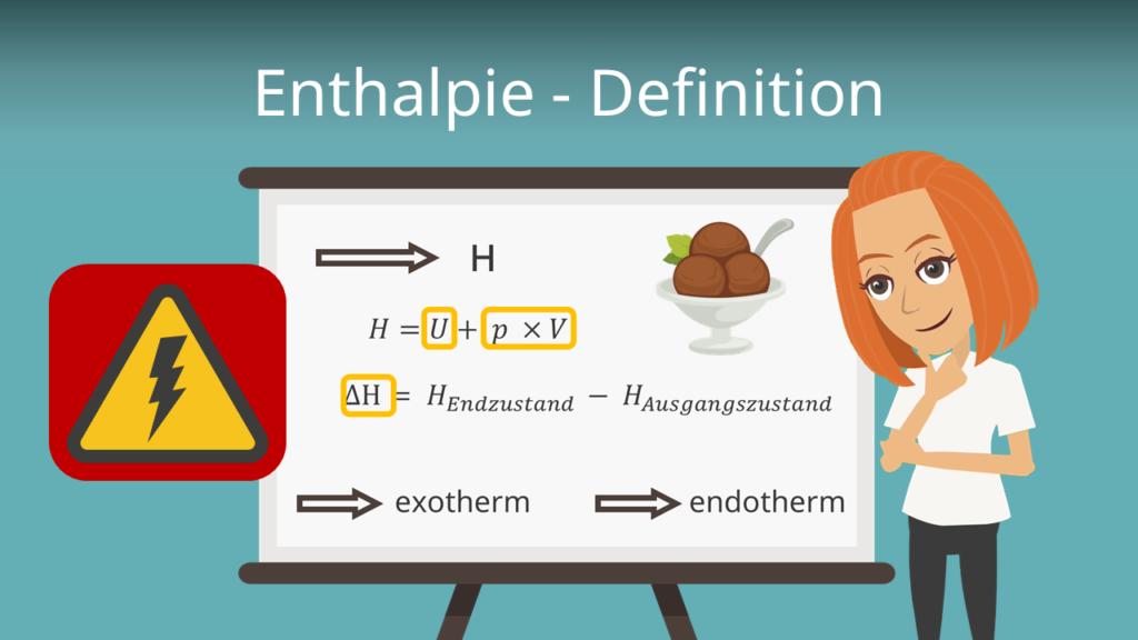 Enthalpie Definition Thermodynamik Energetische Grundlagen