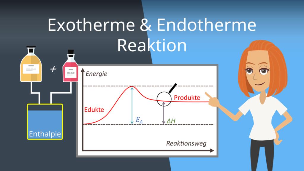 Exotherme & Endotherme Reaktion Thermodynamik Energetische Grundlagen