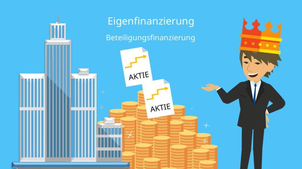 Beteiligungsfinanzierung Eigenfinanzierung Außenfinanzierung
