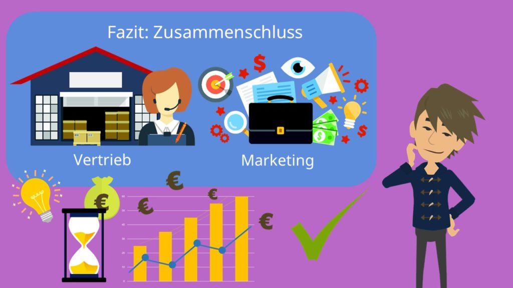 Vertriebsmarketing, Zusammenschluss Marketing Vertrieb