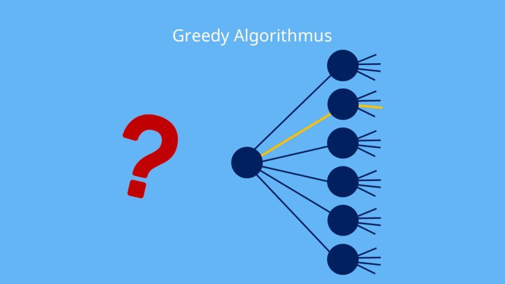 Große Anzahl an Möglichkeiten beim Greedy Algorithmus, Greedy Algorithmus: Auswahlmöglichkeiten