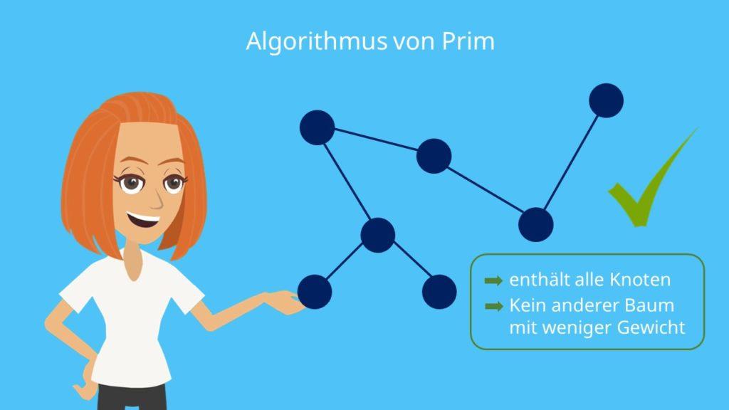 Algorithmus von Prim: Definition
