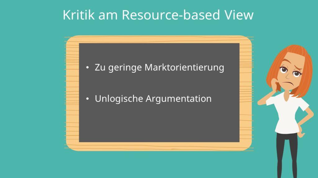 tautologie, resource-based view, Ressourcenbasierter Ansatz
