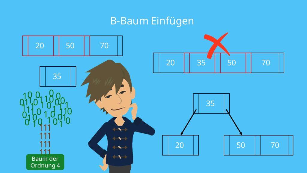 B-Baum Einfügen