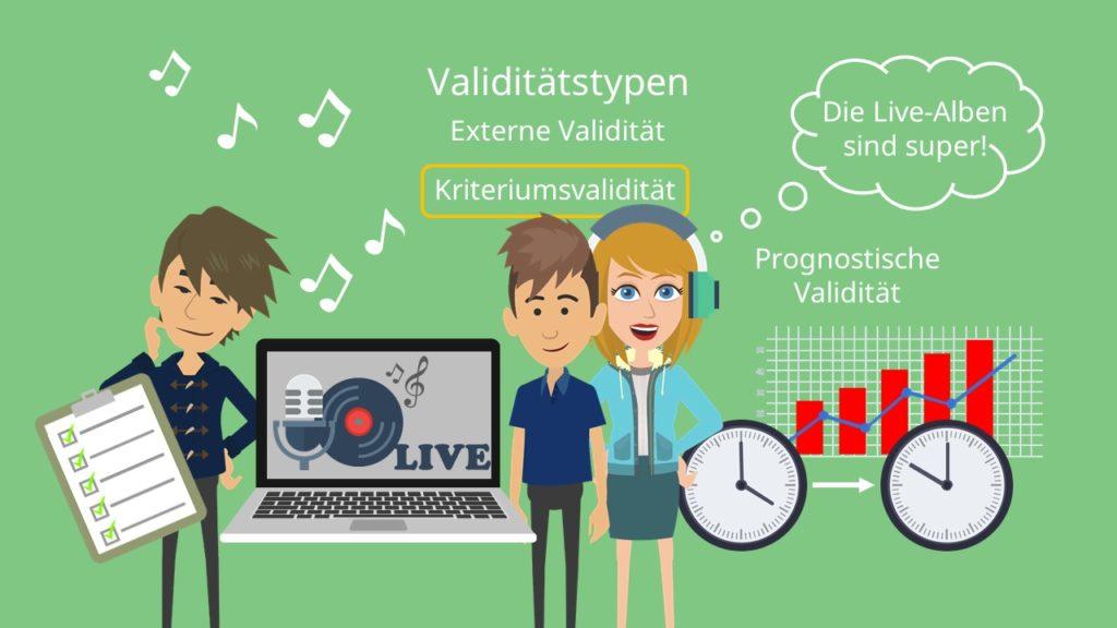 Validitätstypen, Kriteriumsvalidität, Prognostische Validität