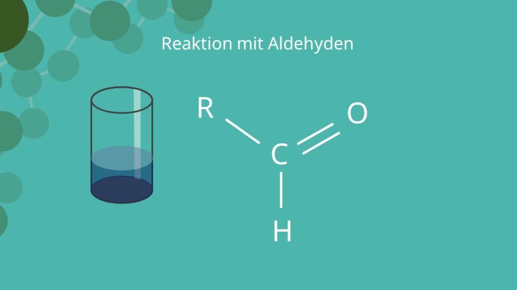 Fehling Probe, Aldehydgruppe, Fehlingsche Lösung