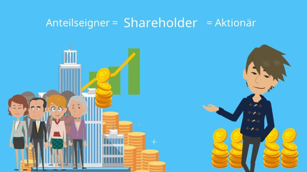 Shareholder, Anteilseigner, Aktionär