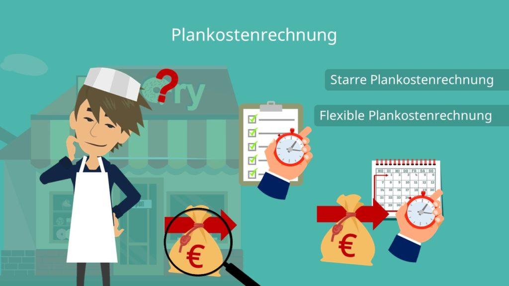 Plankostenrechnung, starre Plankostenrechnung, flexible Plankostenrechnung