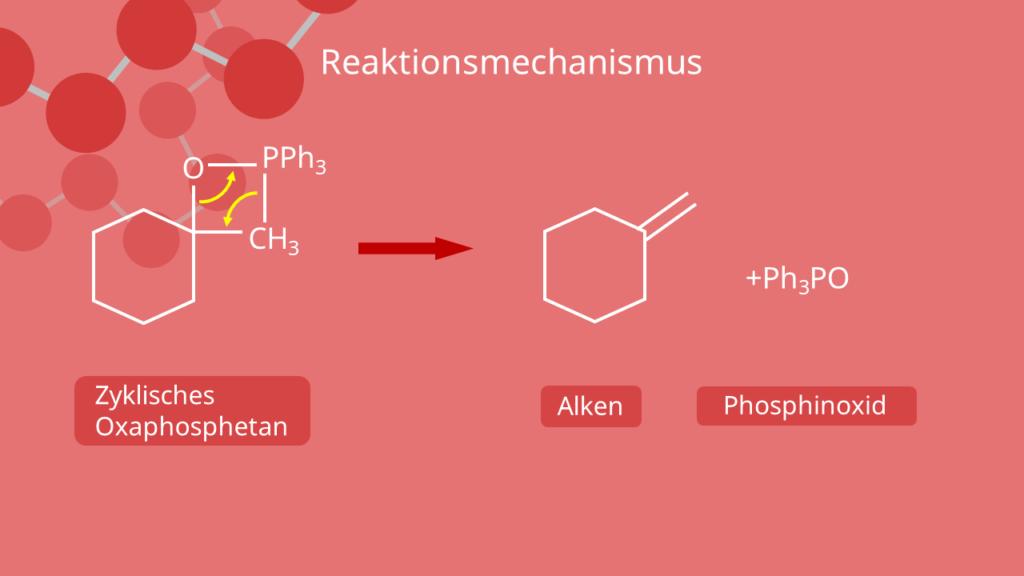 Wittig Reaktion Reaktionsmechanismus
