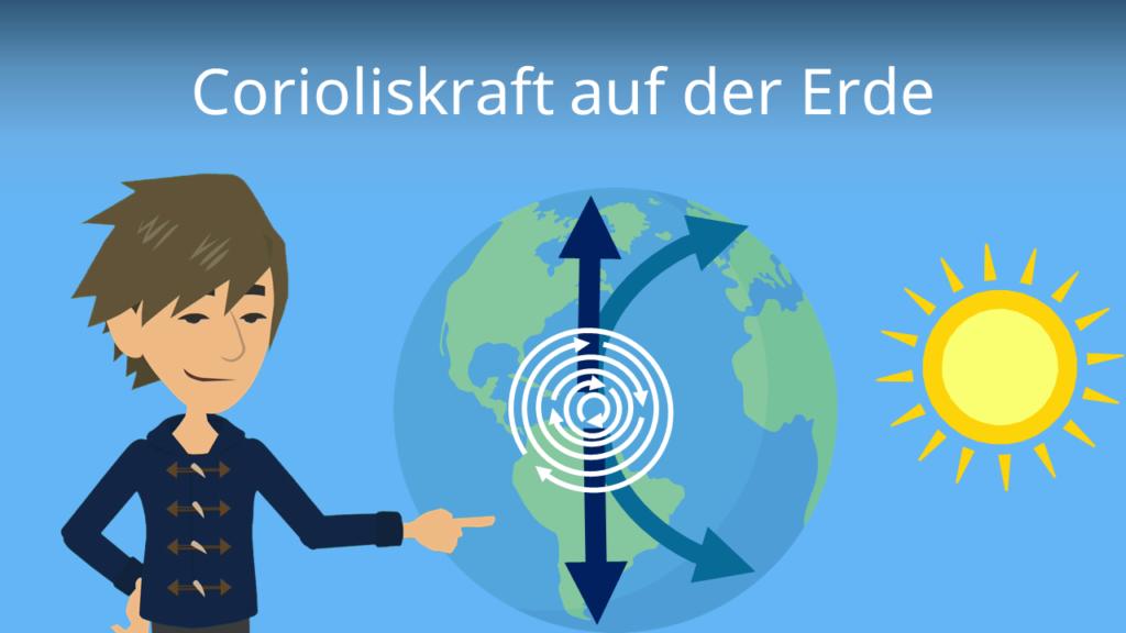 Zum Video: Corioliskraft auf der Erde